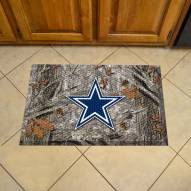 Dallas Cowboys Camo Scraper Door Mat