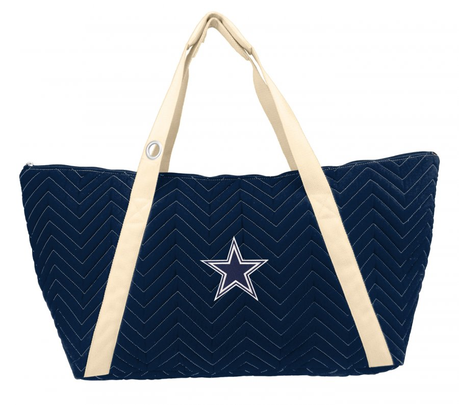 Dallas Cowboys Chevron Stitch Weekender Bag