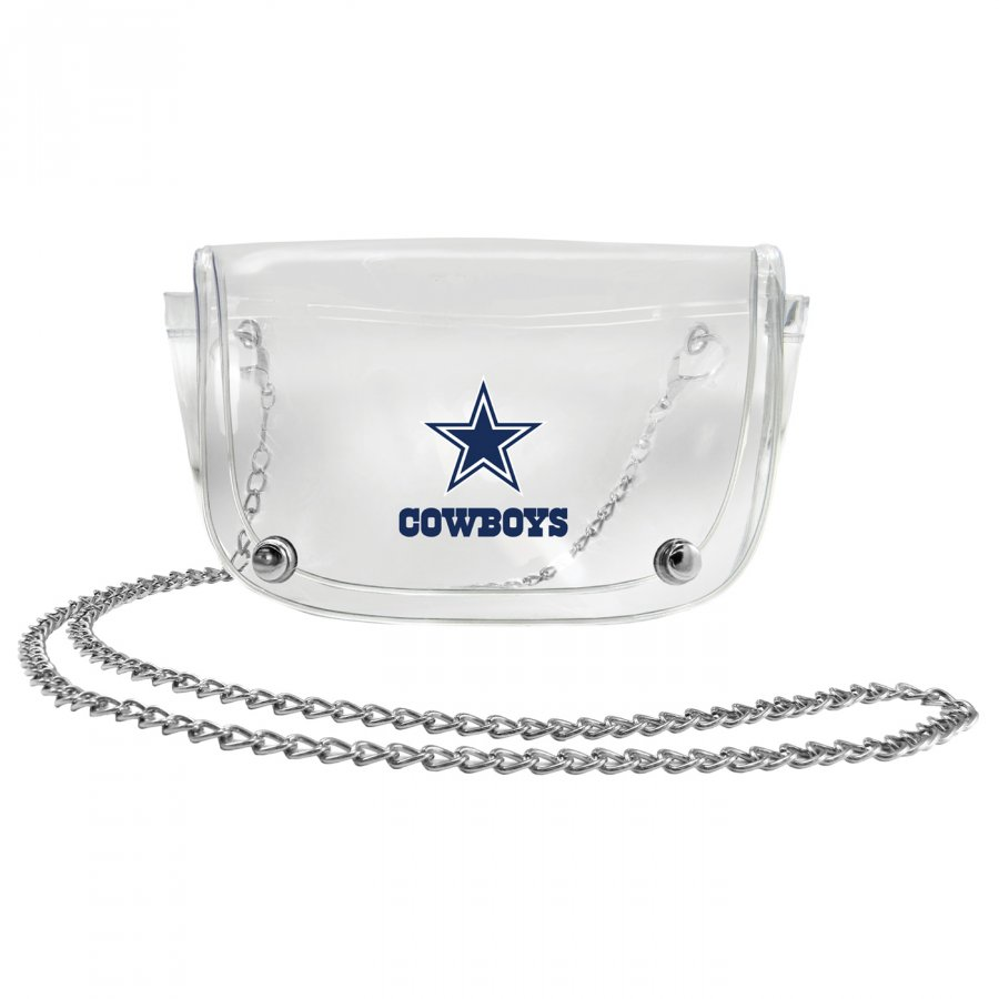 Dallas Cowboys Clear Waistpack