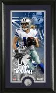 Dallas Cowboys Cole Beasley Minted Coin Panoramic Photo Mint