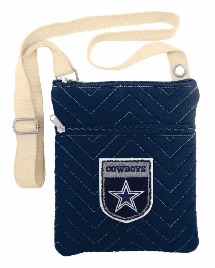 Dallas Cowboys Crest Chevron Crossbody Bag