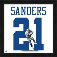 Dallas Cowboys Deion Sanders Uniframe Framed Jersey Photo