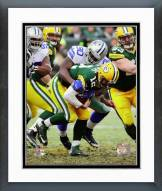 Dallas Cowboys Demarcus Lawrence 2014 Playoff Action Framed Photo