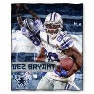 Dallas Cowboys Dez Bryant Silk Touch Blanket