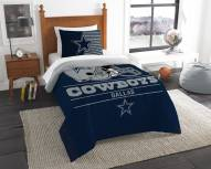 Dallas Cowboys Draft Twin Comforter Set