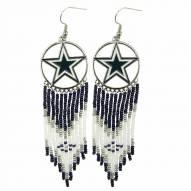 Dallas Cowboys Dreamcatcher Earrings