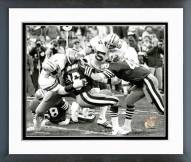 "Dallas Cowboys Ed ""Too Tall"" Jones 1982 Action Framed Photo"