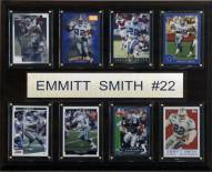 "Dallas Cowboys Emmitt Smith 12"" x 15"" Card Plaque"