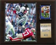 "Dallas Cowboys Emmitt Smith 12 x 15"" Player Plaque"