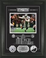 Dallas Cowboys Emmitt Smith Hall of Fame Etched Glass Photomint