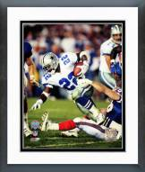Dallas Cowboys Emmitt Smith Super Bowl XXVII Action Framed Photo