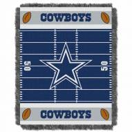 Dallas Cowboys Field Baby Blanket