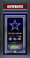 Dallas Cowboys Framed Championship Print