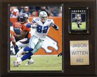 "Dallas Cowboys Jason Witten 12 x 15"" Player Plaque"
