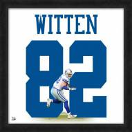 Dallas Cowboys Jason Witten Uniframe Framed Jersey Photo