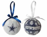 Dallas Cowboys LED Boxed Ornament Set