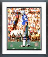 Dallas Cowboys Mel Renfro Super Bowl V Action Framed Photo
