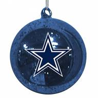 Dallas Cowboys Mercury Glass Ornament