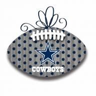 Dallas Cowboys Metal Football Door Decor
