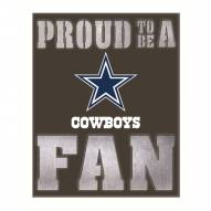 Dallas Cowboys Metal LED Wall Sign