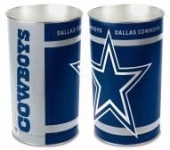 Dallas Cowboys Metal Wastebasket
