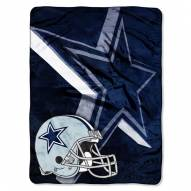 Dallas Cowboys Micro Raschel Bevel Blanket