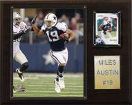 "Dallas Cowboys Miles Austin 12 x 15"" Player Plaque"