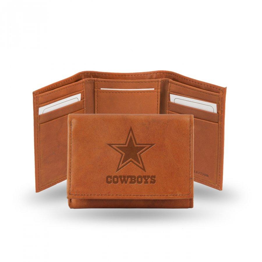 Dallas Cowboys NFL Embossed Tri-Fold Wallet