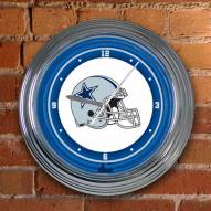 Dallas Cowboys NFL Neon Wall Clock