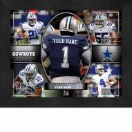 Dallas Cowboys Personalized Framed Action Collage
