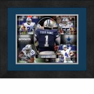 Dallas Cowboys Personalized 13 x 16 Framed Action Collage
