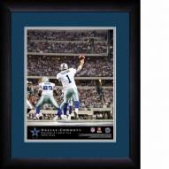 Dallas Cowboys Personalized 13 x 16 NFL Action QB Framed Print