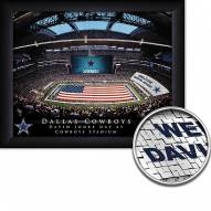 Dallas Cowboys Personalized Framed Stadium Print