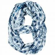 Dallas Cowboys Plaid Sheer Infinity Scarf
