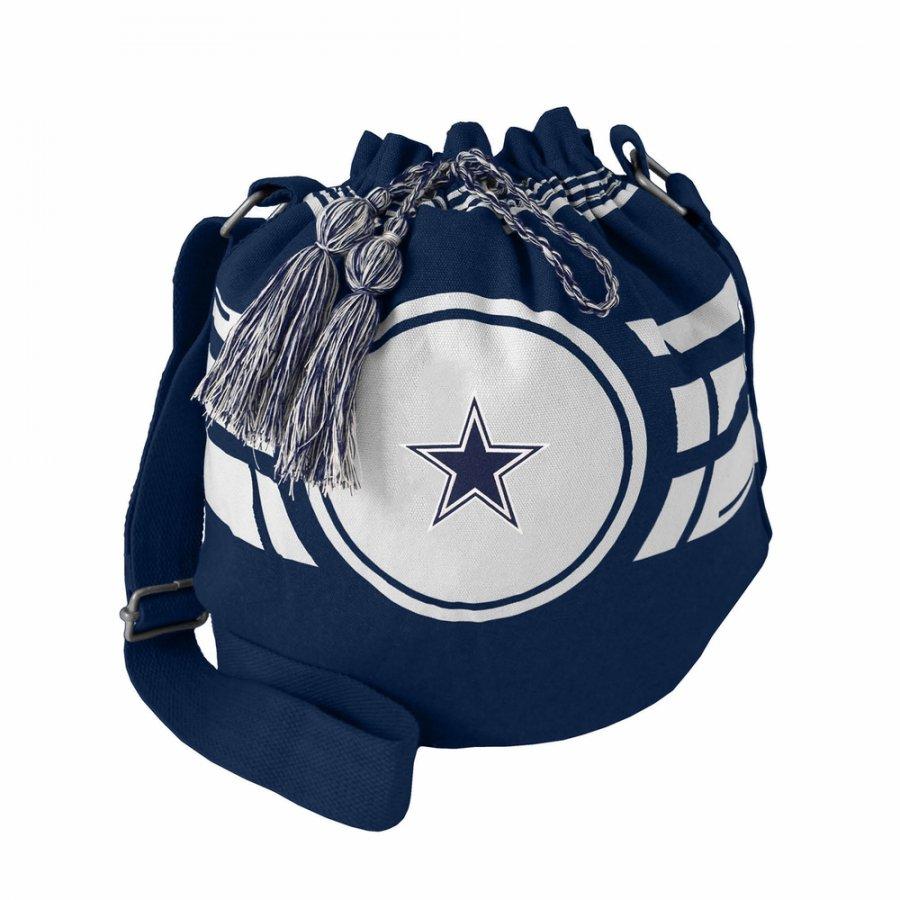 Dallas Cowboys Ripple Drawstring Bucket Bag