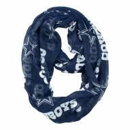 Dallas Cowboys Sheer Infinity Scarf