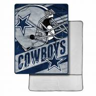 Dallas Cowboys Sherpa Foot Pocket Blanket