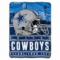 Dallas Cowboys Silk Touch Stacked Blanket