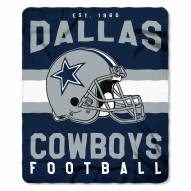 Dallas Cowboys Singular Fleece Blanket