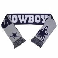 Dallas Cowboys Split Logo Reverse Scarf
