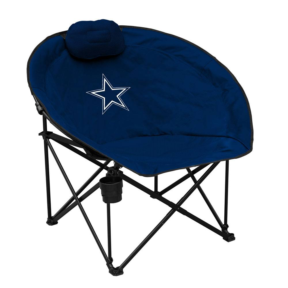 Combining The Best Features Of A Tailgating Chair And A Lounge Chair, The Dallas  Cowboys Squad Chair Will Be Your Go To Seat To Watch The Game!