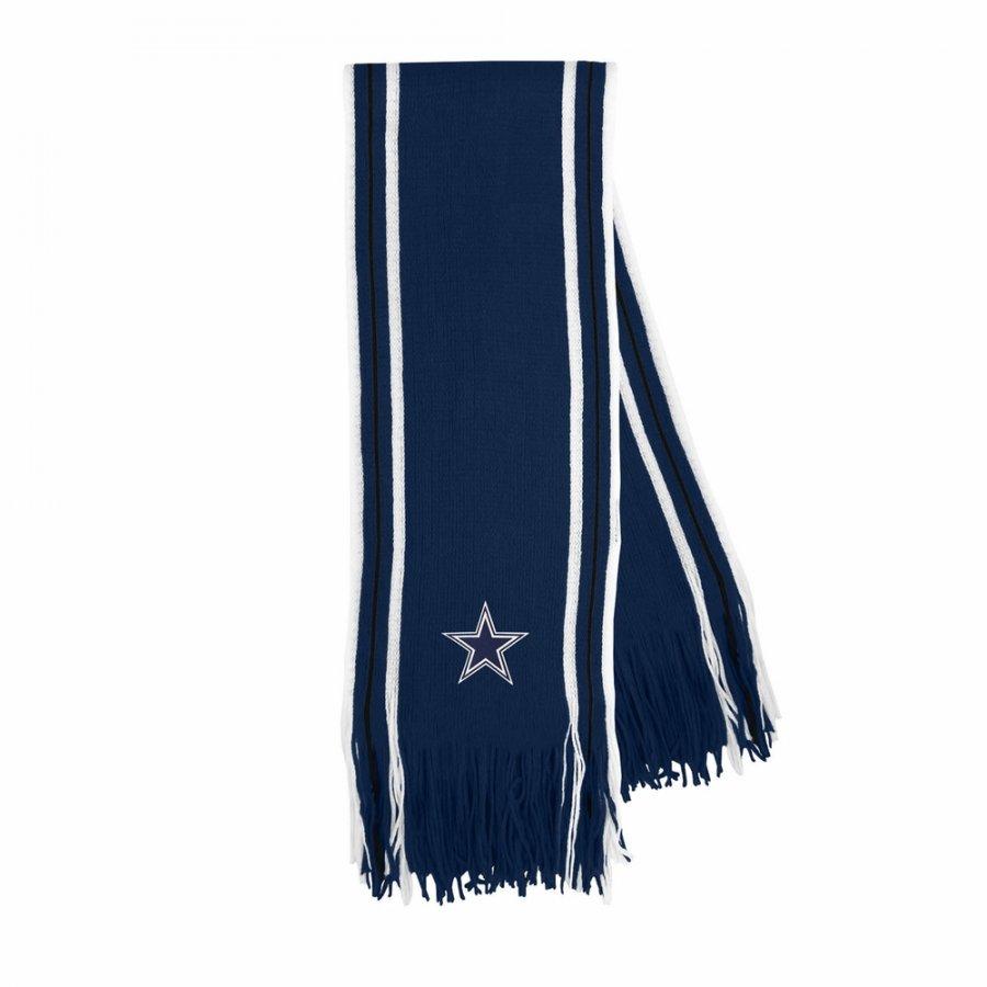 Dallas Cowboys Star Stripe Fringe Scarf