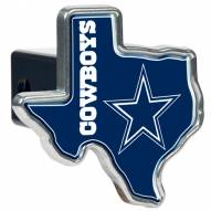 Dallas Cowboys Texas Shaped Trailer Hitch Cover