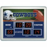 Dallas Cowboys Thermometer Scoreboard Clock