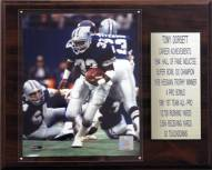 "Dallas Cowboys Tony Dorsett 12"" x 15"" Career Stat Plaque"