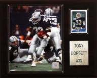 "Dallas Cowboys Tony Dorsett 12 x 15"" Player Plaque"