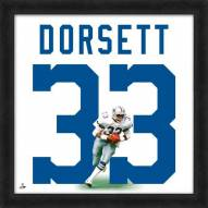 Dallas Cowboys Tony Dorsett Uniframe Framed Jersey Photo