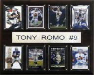 "Dallas Cowboys Tony Romo 12"" x 15"" Card Plaque"