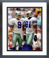 Dallas Cowboys Tony Romo & Terrell Owens 2006 Action Framed Photo