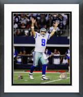 Dallas Cowboys Tony Romo Touchdown Celebration 2014 Playoff Action Framed Photo